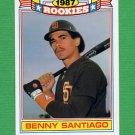 1988 Topps Baseball Rookies #18 Benito Santiago - San Diego Padres