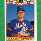 1988 Topps Baseball Rookies #12 Randy Myers - New York Mets