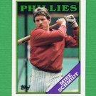 1988 Topps Baseball #600 Mike Schmidt - Philadelphia Phillies