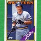 1988 Topps Baseball #465 Paul Molitor - Milwaukee Brewers