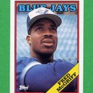 1988 Topps Baseball #463 Fred McGriff - Toronto Blue Jays