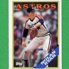 1988 Topps Baseball #250 Nolan Ryan - Houston Astros NM-M