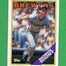 1988 Topps Baseball #165 Robin Yount - Milwaukee Brewers