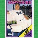 1988 Topps Baseball #074 Tom Lasorda MG / Los Angeles Dodgers Team Checklist