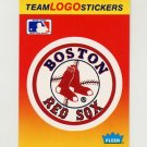 1991 Fleer Baseball Team Logo Stickers The Boston Red Sox