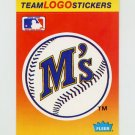 1991 Fleer Baseball Team Logo Stickers The Seattle Mariners Team Logo