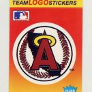 1991 Fleer Baseball Team Logo Stickers The California Angels Team Logo