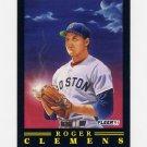 1991 Fleer Baseball Pro-Visions #09 Roger Clemens - Boston Red Sox