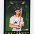 1991 Fleer Baseball Pro-Visions #08 Mike Greenwell - Boston Red Sox