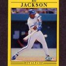 1991 Fleer Baseball #561 Bo Jackson - Kansas City Royals