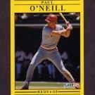 1991 Fleer Baseball #076 Paul O'Neill - Cincinnati Reds