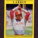 1991 Fleer Baseball #068 Barry Larkin - Cincinnati Reds