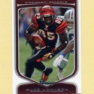 2009 Bowman Draft Football White #074 Chad Johnson - Cincinnati Bengals /299