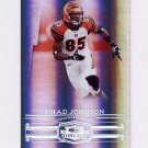 2007 Donruss Threads Silver Holofoil #011 Chad Johnson - Cincinnati Bengals /100
