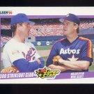 1990 Fleer Baseball #636 Nolan Ryan / Mike Scott