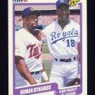 1990 Fleer Baseball #635 Kirby Puckett / Bo Jackson