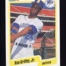 1990 Fleer Baseball #513 Ken Griffey Jr. - Seattle Mariners