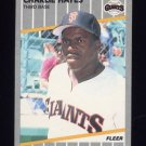 1989 Fleer Baseball #330 Charlie Hayes RC - San Francisco Giants