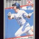 1989 Fleer Baseball #098A Kevin Romine - Boston Red Sox