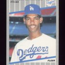 1989 Fleer Baseball #067 Ramon Martinez RC - Los Angeles Dodgers