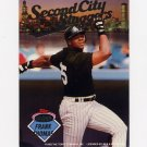 1993 Stadium Club Baseball Inserts #B3 Frank Thomas / Ryne Sandberg Second City Sluggers