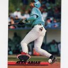 1993 Stadium Club Baseball #741 Alex Arias - Florida Marlins