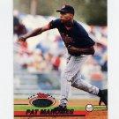 1993 Stadium Club Baseball #740 Pat Mahomes - Minnesota Twins