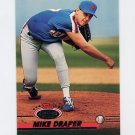 1993 Stadium Club Baseball #732 Mike Draper - New York Mets