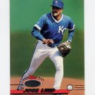 1993 Stadium Club Baseball #729 Jose Lind - Kansas City Royals