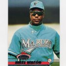 1993 Stadium Club Baseball #720 Nigel Wilson - Florida Marlins