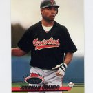 1993 Stadium Club Baseball #715 Sherman Obando RC - Baltimore Orioles