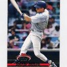 1993 Stadium Club Baseball #705 David Hulse RC - Texas Rangers