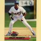 1993 Stadium Club Baseball #651 Julio Franco - Texas Rangers