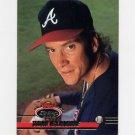 1993 Stadium Club Baseball #650 Tom Glavine - Atlanta Braves Ex