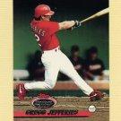 1993 Stadium Club Baseball #628 Gregg Jefferies - St. Louis Cardinals