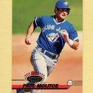 1993 Stadium Club Baseball #627 Paul Molitor - Toronto Blue Jays