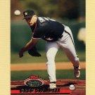 1993 Stadium Club Baseball #608 Greg Swindell - Houston Astros