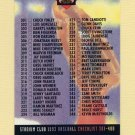 1993 Stadium Club Baseball #588 Checklist 301-400