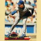 1993 Stadium Club Baseball #587 Jim Austin - Milwaukee Brewers