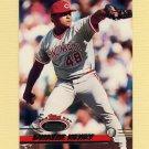 1993 Stadium Club Baseball #577 Dwayne Henry - Cincinnati Reds