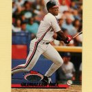 1993 Stadium Club Baseball #576 Glenallen Hill - Cleveland Indians