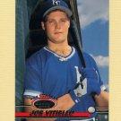 1993 Stadium Club Baseball #570 Joe Vitiello - Kansas City Royals