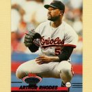 1993 Stadium Club Baseball #560 Arthur Rhodes - Baltimore Orioles
