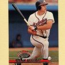 1993 Stadium Club Baseball #541 Ryan Klesko - Atlanta Braves