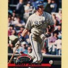 1993 Stadium Club Baseball #537 Wally Joyner - Kansas City Royals