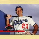 1993 Stadium Club Baseball #528 Eric Karros - Los Angeles Dodgers