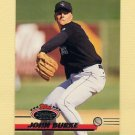 1993 Stadium Club Baseball #513 John Burke RC - Colorado Rockies
