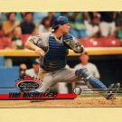 1993 Stadium Club Baseball #502 Tim McIntosh - Milwaukee Brewers