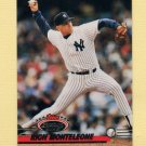 1993 Stadium Club Baseball #493 Rich Monteleone - New York Yankees