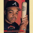 1993 Stadium Club Baseball #491 Brian Hunter - Atlanta Braves
